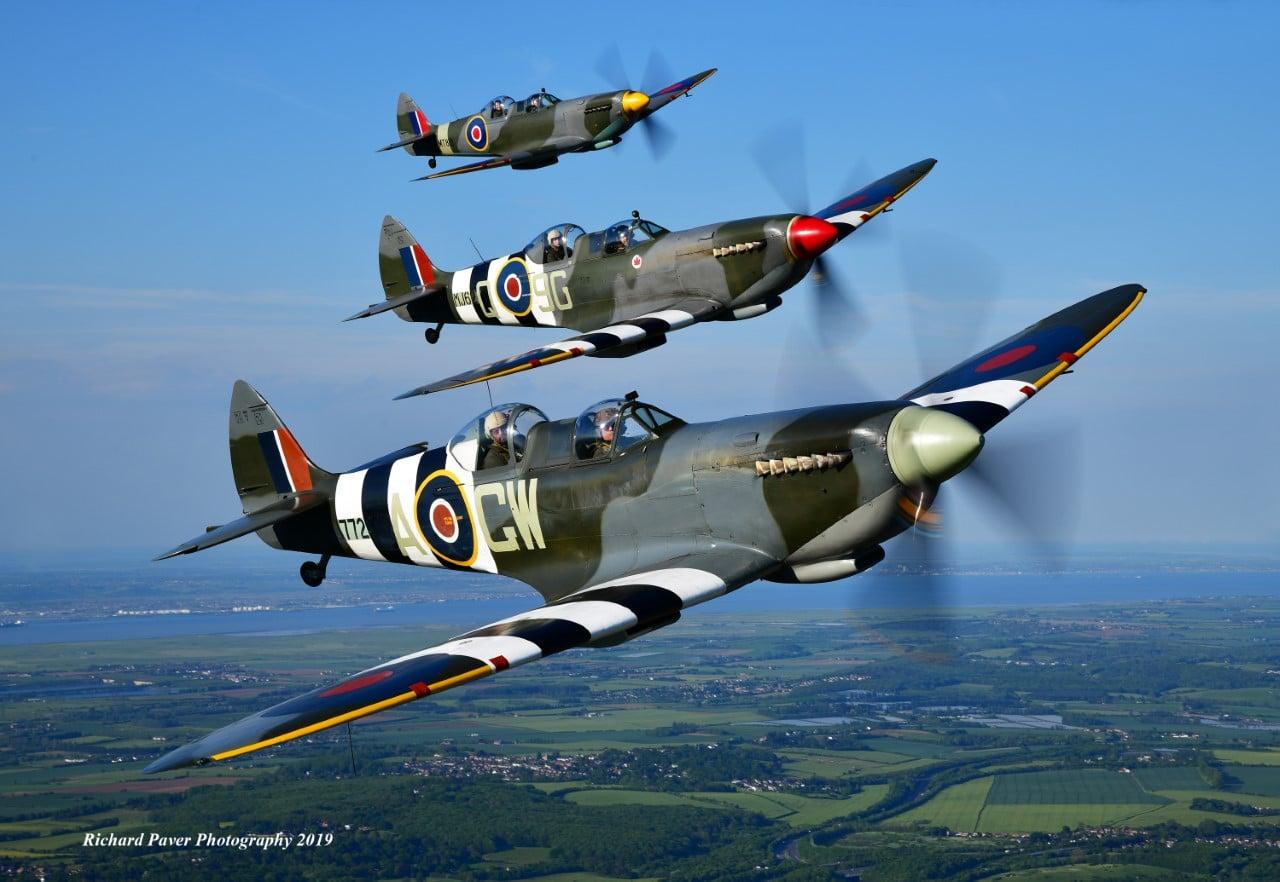 Spitfire TE308